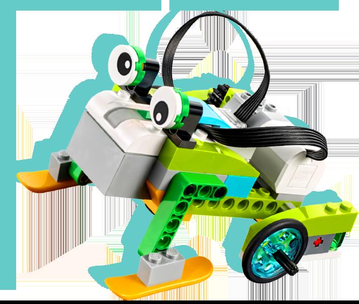 Robot sapo