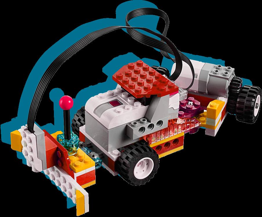 robot auto de legos